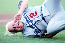 10 Jul 2001: Tommy Lasorda during the 2001 All-Star Game at Safeco Field in Seattle, Washington. Mandatory Credit: VJ Lovero/SI/Icon SMI