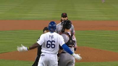Puig gets peeved