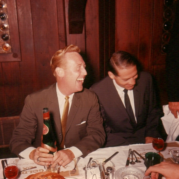 Vin Scully and Dad