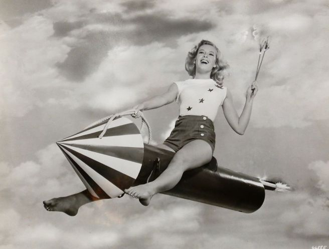 Dodgers 4th of July Pinup